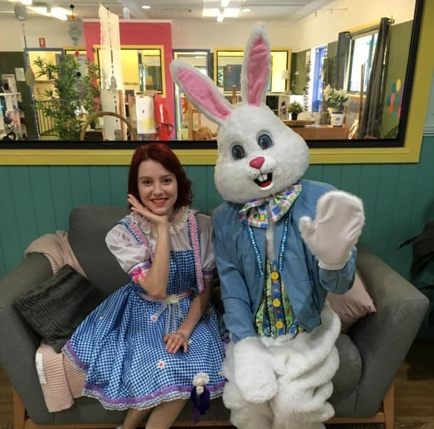 Let our Easter Bunny entertain you at your next event or party.