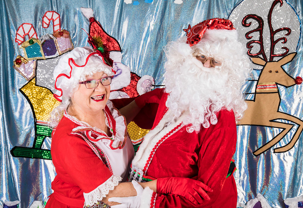 Let our Santa or Mrs Claus entertain you at your next event or party.